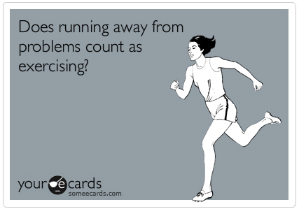 Running-awa-from-Problems